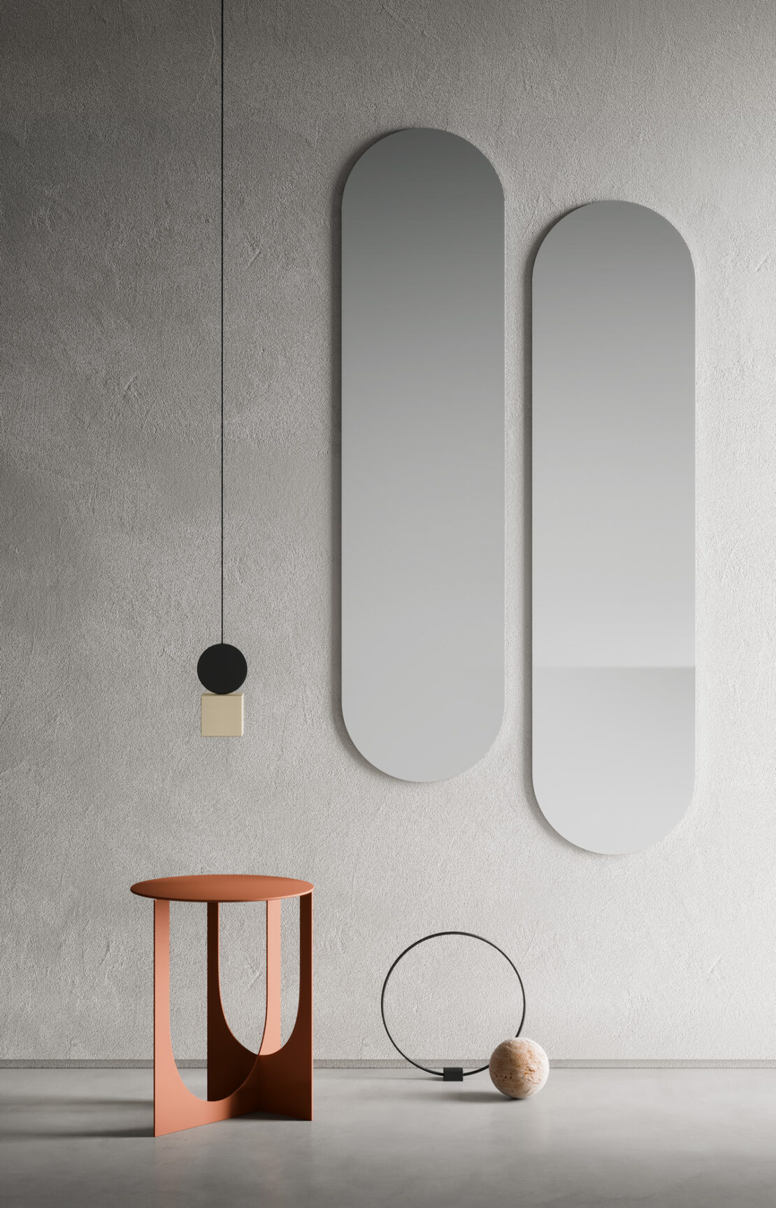 specchi tavolini e pouf di design per arredare casa