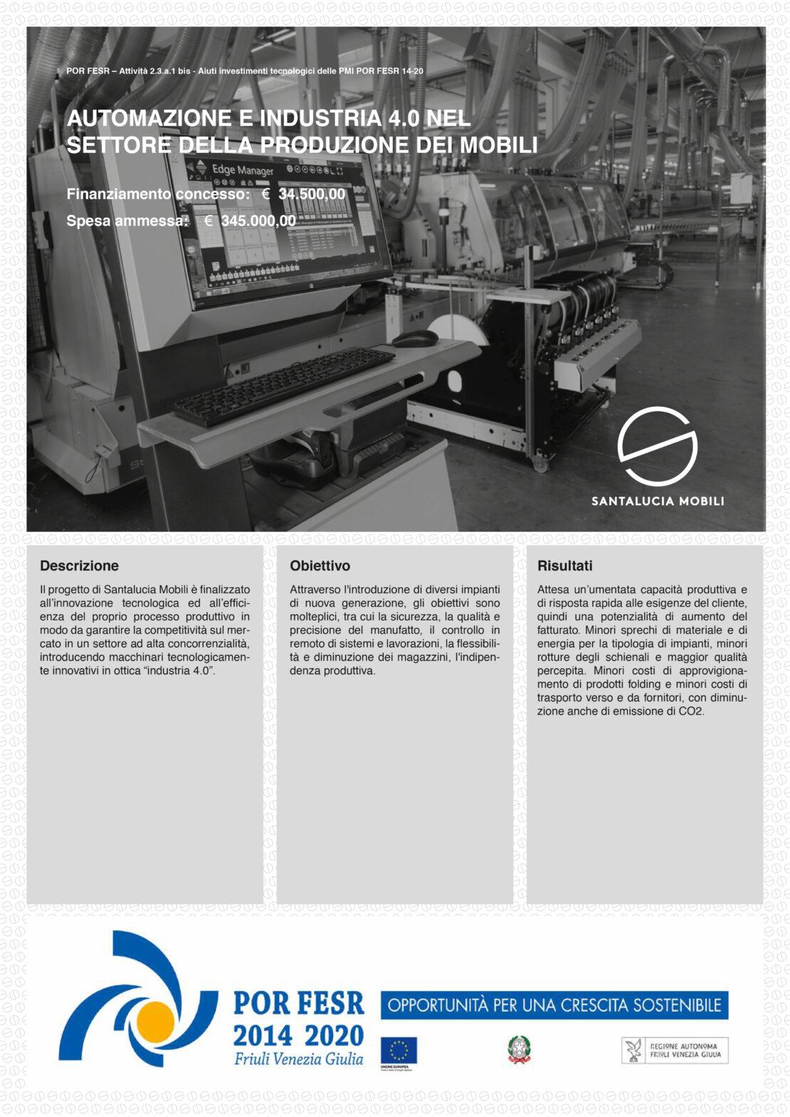 POR FESR Industria 4.0