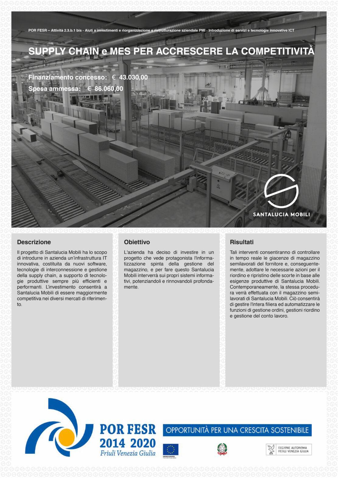 POR FESR Supply Chain